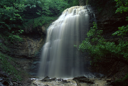 Tiffany Falls in Ancaster