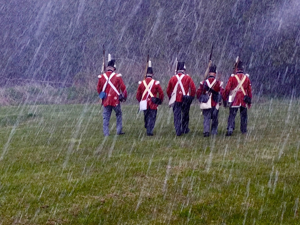 Red Coats and Black Powder