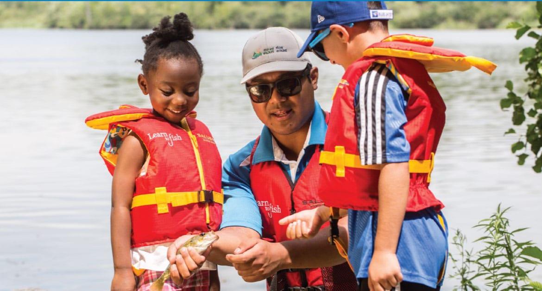 Learn to Fish at Valens Lake