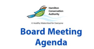 Board of Directors meeting agenda for Dec. 3